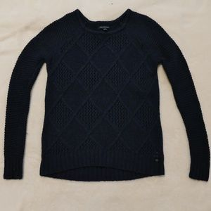 American Eagle Navy Blue Pullover Sweater